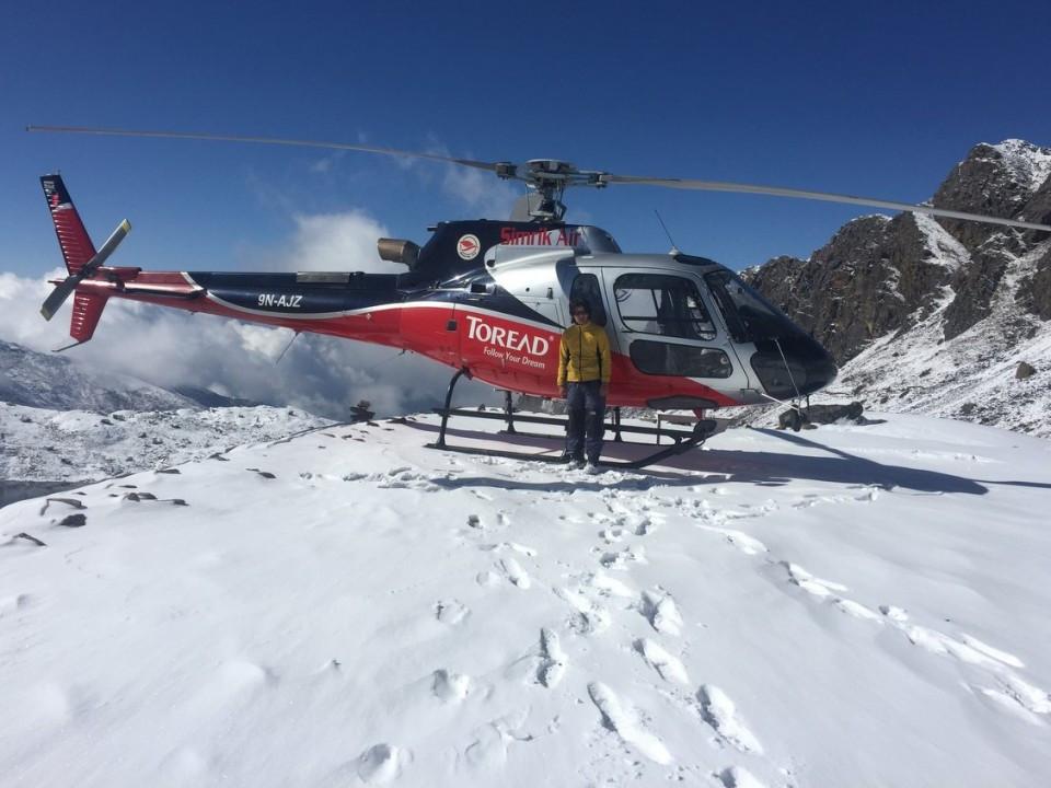 Kyanjing Gompa- Heli skiing