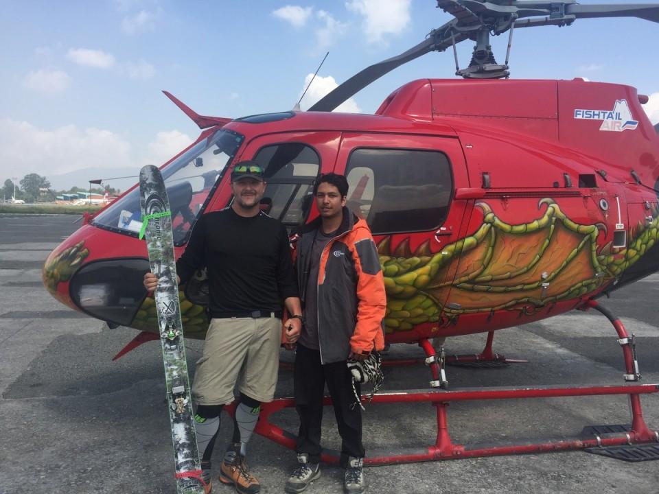Annapurna Base Camp Heli Ski