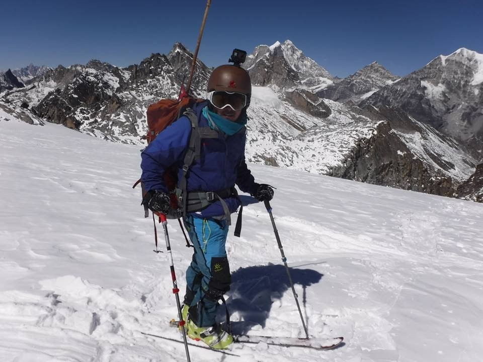 Ski in Ramdung Go Peak